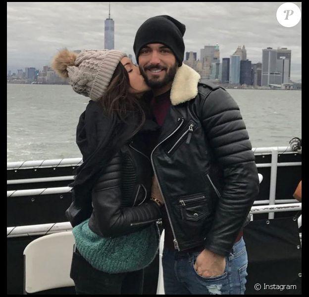 Nabilla et Thomas en vacances à New York en décembre 2016