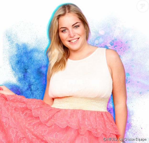 """Apryl candidate anonyme des """"Anges 9"""", photo officielle"""