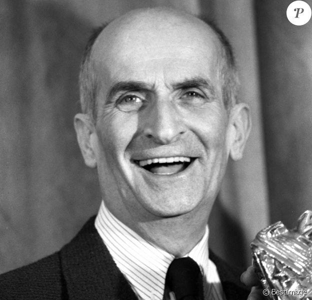 Archives - Louis De Funès aux César en 1980.
