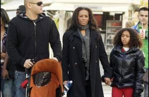 PHOTOS : Mel B, ses deux enfants et son mari... Noël sous le soleil californien !