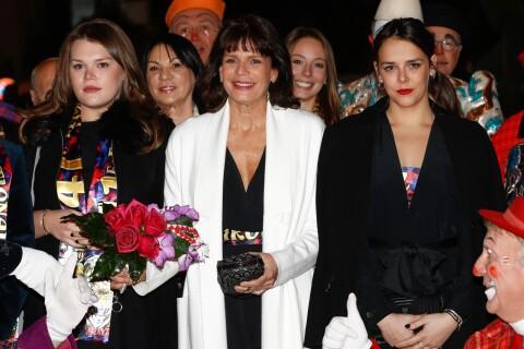Stéphanie de Monaco, élégante au cirque avec ses filles Pauline et Camille