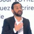 """Cyril Hanouna dans """"Touche pas à mon poste"""" (C8) le 17 janvier 2017."""