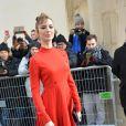 """Louise Bourgoin - Défilé de mode """"Christian Dior"""", collection Haute-Couture printemps-été 2017 au Musée Rodin à Paris. Le 23 janvier 2017 © CVS - Veeren / Bestimage"""