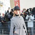 """Natalia Vodianova - Défilé de mode """"Christian Dior"""", collection Haute-Couture printemps-été 2017 au Musée Rodin à Paris. Le 23 janvier 2017 © CVS - Veeren / Bestimage"""