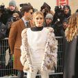 """Olivia Palermo - Défilé de mode """"Christian Dior"""", collection Haute-Couture printemps-été 2017 au Musée Rodin à Paris. Le 23 janvier 2017 © CVS - Veeren / Bestimage"""