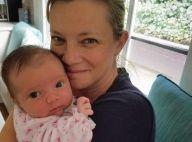 Amy Smart maman : Révélation inattendue un mois après la naissance de son bébé