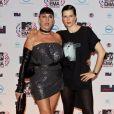 Rossy de Palma et Bimba Bosé aux MTV Europe Music Awards 2010 à Madrid. Novembre 2010.
