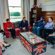Le prince Harry visite le Help For Heroes Recovery Centre à la Tedworth House à Tidworth, le 23 january 2017, où le prince a appris des choses concernant l'aide apportée aux vétérans souffrant de maladies mentales.