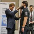 """Le prince William et la prince Harry ont remis le prix """"Endeavour Fund"""" à Londres, le 17 janvier 2017."""