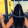 Laury (Les Anges 9), fitness girl sexy sur Instagram.