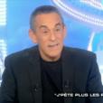 """Thierry Ardisson le 28 janvier 2017 sur Canal+ dans """"Salut les terriens""""."""