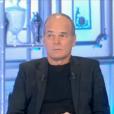 """Laurent Baffie et Christophe Hondelatte, le 28 janvier 2017 sur Canal+ dans """"Salut les terriens""""."""