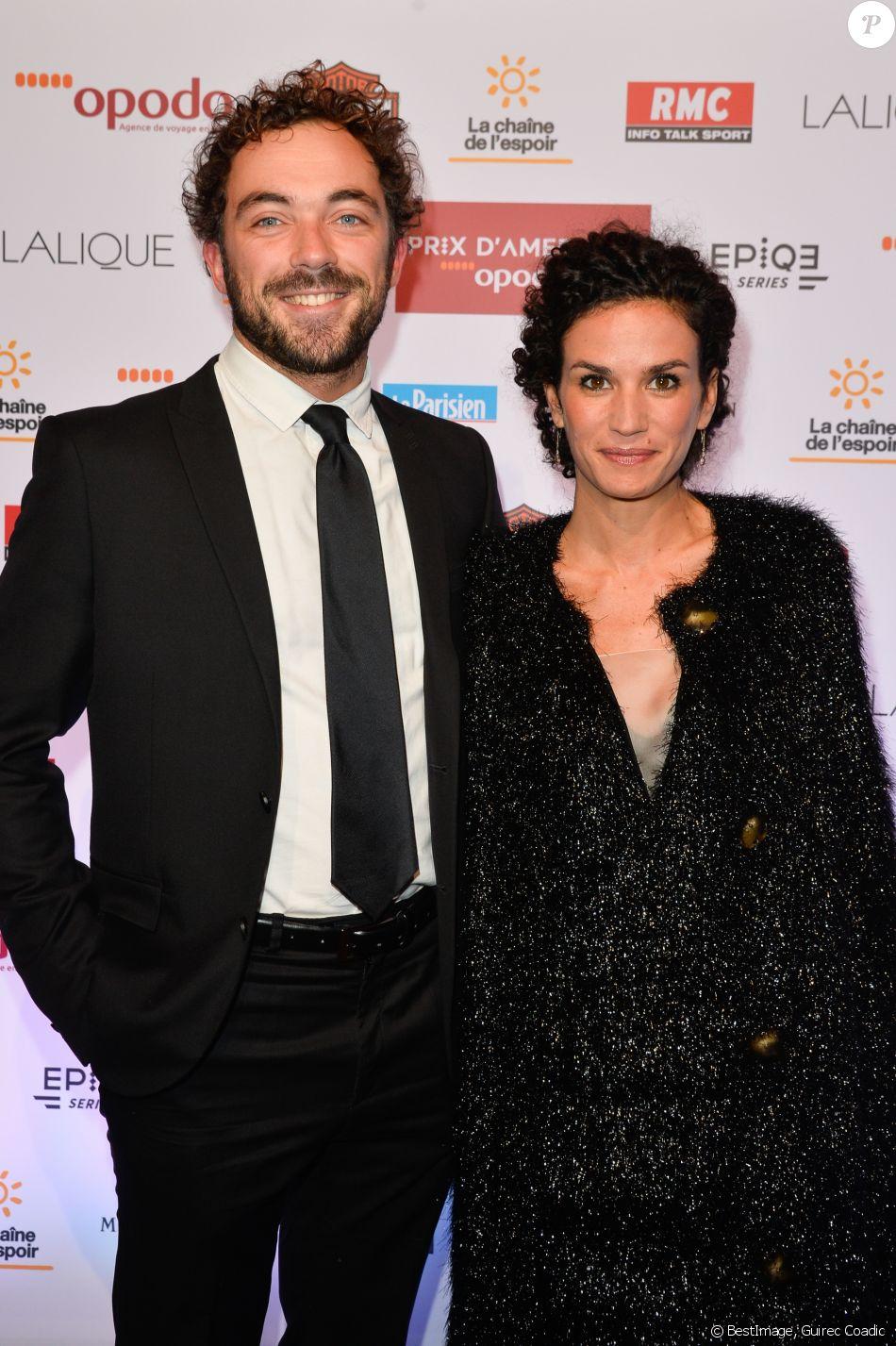 Barbara cabrita et aur lien amzallag lors du d ner de gala du 96e prix d 39 am rique opodo l - Aurelien cotentin en couple ...