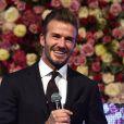 David Beckham lors d'une nouvelle édition du Global Gift Gala à l'hôtel Corinthia à Londres, Royaume Uni, le 19 novembre 2016.
