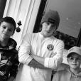Victoria Beckham a publié une photo de son mari et ses enfants sur sa page Instagram, le 30 janvier 2017