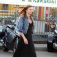 Miranda Kerr cherche une Kawasaki avec son homme, Orlando Bloom