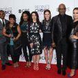 L'équipe de Grey's Anatomy à la press room lors de la soirée des People's Choice awards à Los Angeles, le 18 janvier 2017.