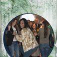 Semi-exclusif - Laurence Roustandjee lors de l'inauguration du bar à gum éphémère de la marque de chewing-gums Hollywood le 27 janvier 2017 à l'Espace Beaurepaire. © Pierre Perusseau/Bestimage