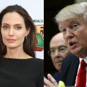 """Angelina Jolie tacle (enfin) Donald Trump : """"Nous jouons avec le feu"""""""