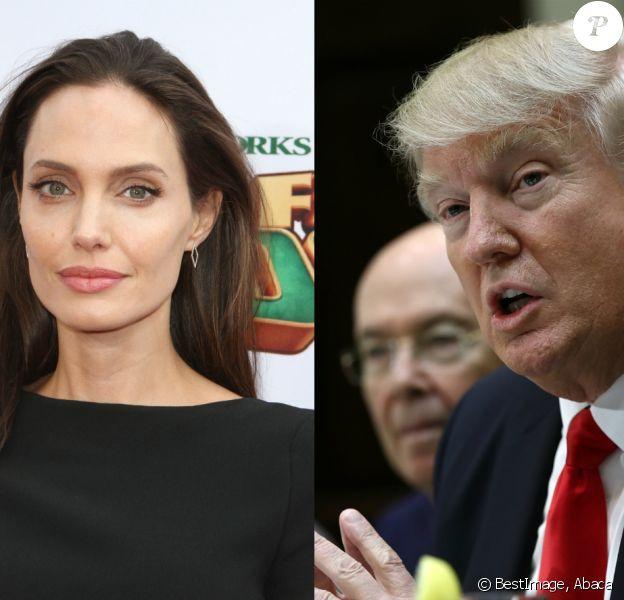 Angelina Jolie s'en prend à Donald Trump dans une tribune publiée sur le New York Times.