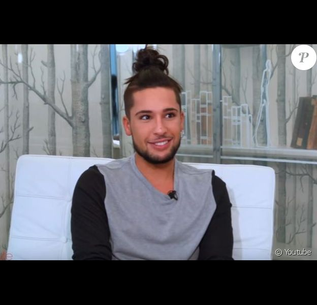"""Eddy de """"La Villa des coeurs brisés 2"""" en interview, janvier 2017"""