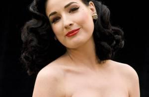 VIDEO : Dita von Teese sublimement nue et au top de la sensualité... dans le dernier clip de George Michael !