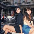 Lio et sa soeur Helena Noguerra à Paris en 1988