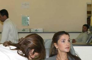PHOTOS : La sublime et généreuse Rania de Jordanie donne son sang pour les blessés ! (réactualisé photos)
