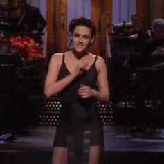 Kristen Stewart au Saturday Night Live le 4 février 2017.