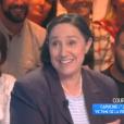 """Danielle Moreau dans """"Touche pas à mon poste"""" le 3 février 2017 sur C8."""