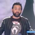 """Cyril Hanouna dans """"Touche pas à mon poste"""" sur C8. le 31 janvier 2017."""