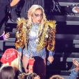 Lady Gaga en concert pendant la mi-temps du Super Bowl au NRG Stadium de Houston le 5 février 2017. © Dan Wozniak via ZUMA Wire / Bestimage