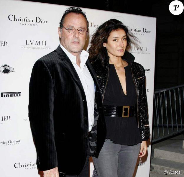 Jean Reno et sa femme Zofia