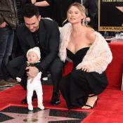 Adam Levine : Étoilé face à Behati Prinsloo et leur fille Dusty Rose