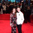 Eddie Redmayne et Hannah Bagshawe à la cérémonie des British Academy Film Awards (BAFTA) au Royal Albert Hall à Londres, le 12 février 2017.
