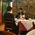 Selena Gomez et The Weeknd lors d'un romantique week-end en Italie. Photo publiée sur Twitter le 28 janvier 2017