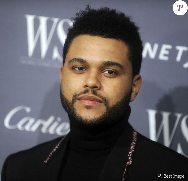 The Weeknd au photocall de la soirée WSJ Magazine Innovator Awards 2016 au musée d'Art Moderne de New York le 2 novembre 2016. © Future-Image via ZUMA Press / Bestimage