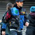 Exclusif - Adrien Brody dans la rue à Manhattan le 27 décembre 2016.