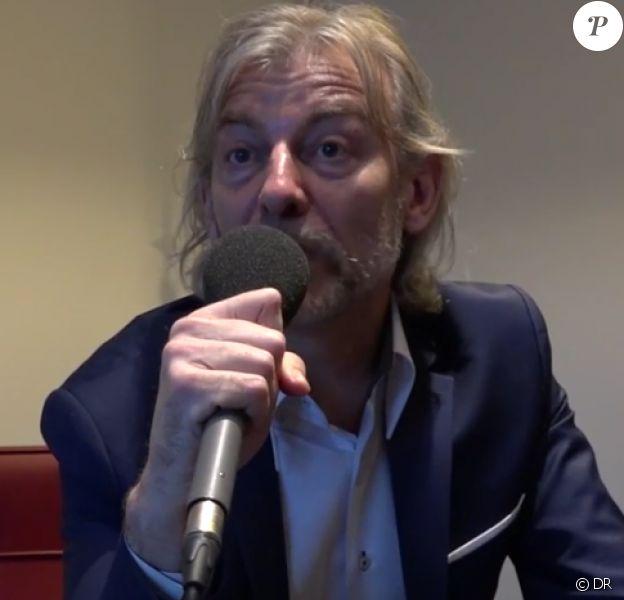 Gilles Verdez en interview pour Voici.fr parle de JoeyStarr le 15 février 2017