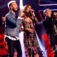 Les coachs de The Voice 6, le 18 février 2017 sur TF1.