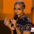 """Marcos Adam dans """"The Voice 6"""" le 18 février 2017."""