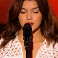 """Syrine dans """"The Voice 6"""" le 18 février 2017."""