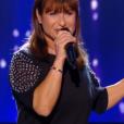 """Patrizia dans """"The Voice 6"""" le 18 février 2017 sur TF1."""