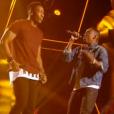 """Fonetyk et Dama dans """"The Voice 6"""" le 18 février 2017."""