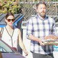 Ben Affleck et Jennifer Garner sont allés en famille à l'église à Los Angeles, le 13 novembre 2016