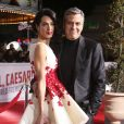 """George Clooney et sa femme Amal Clooney - Première du film """"Hail, Caesar!"""" à Westwood le 1er février 2016."""