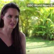 """Angelina Jolie, ses 1ers mots sur son divorce avec Brad Pitt : """"Je fais face"""""""