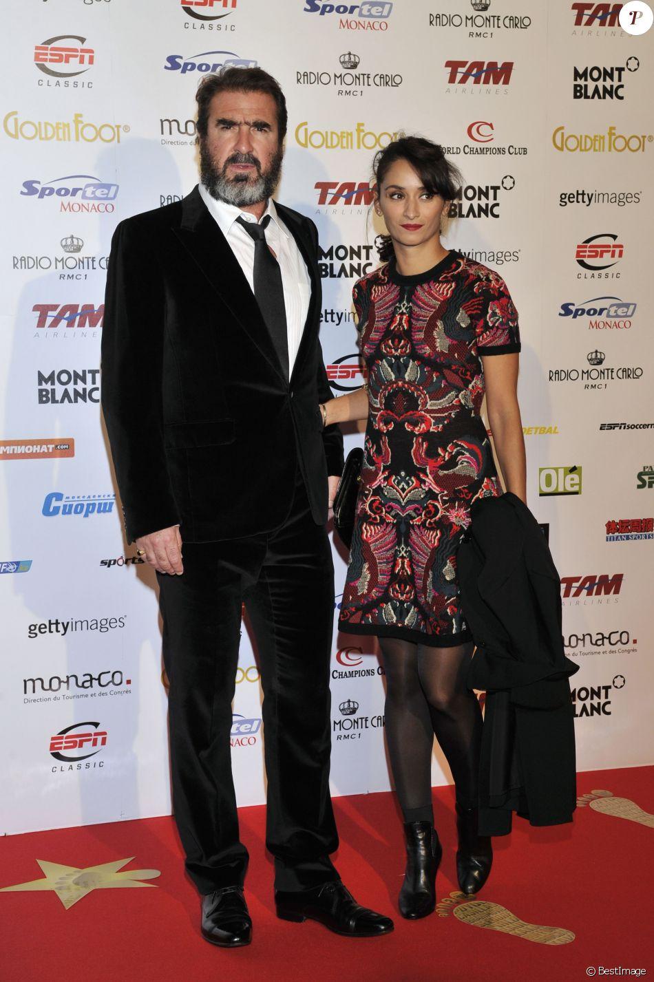 Eric Cantona et Rachida Brakni - La princesse Stephanie de Monaco assiste a la ceremonie du 'Golden Foot Award' a Monaco le 17 avril 2012.