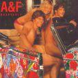 Malin Akerman et Jamie Dornan posent pour Abercrombie & Fitch en 2003.