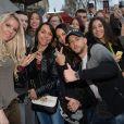 """Exclusif - Jessica Thivenin et Pagaà la soirée de lancement de la nouvelle émission de télé-réalité """"Les Marseillais South America"""" au cinéma Gaumont Marignan à Paris, le 21 février 2017. © Veeren/Bestimage"""